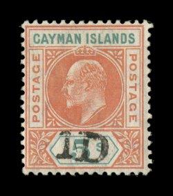 Shilling Stamp Cayman Islands