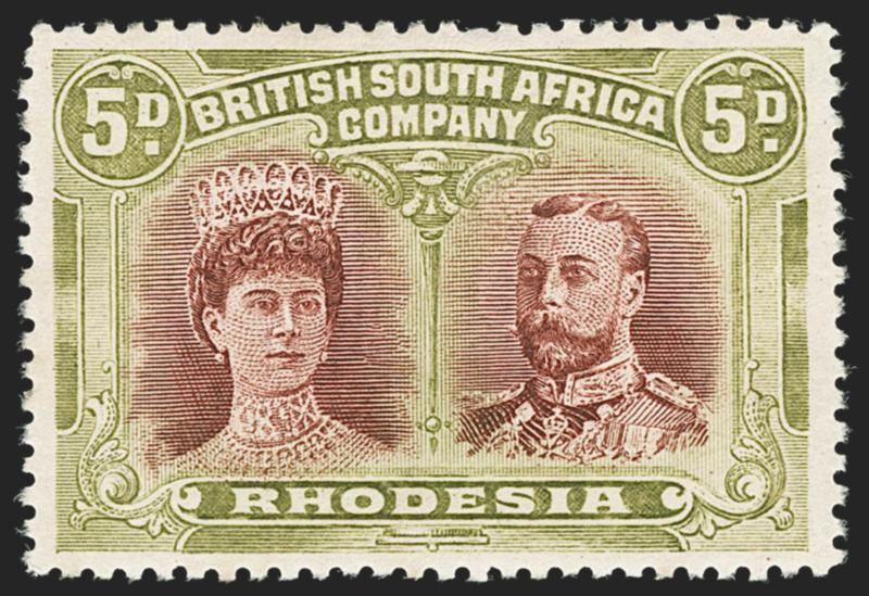 Image result for stamps rhodesia 1912