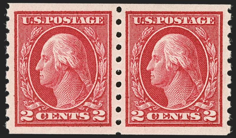 Mnh 1 Of 12 Misperfed Double Stamp