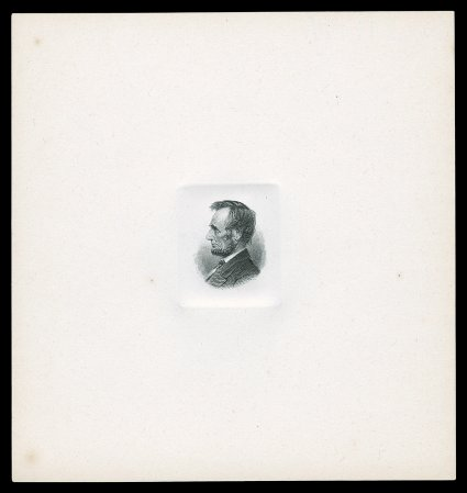 spink shreves galleries page  553 e lincoln head large die essay for the 1871 72 40 lb continental bank note
