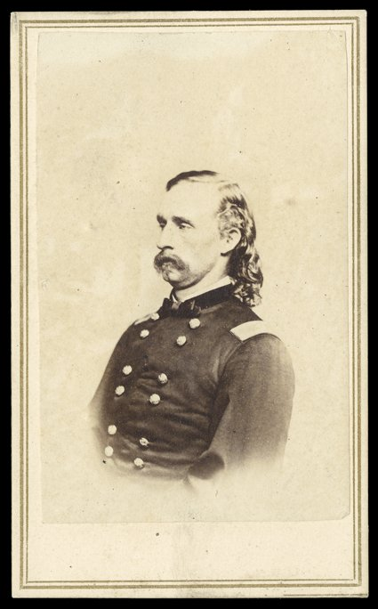 324 George Armstrong Custer Choice Civil War Date Carte De Visite Photograph