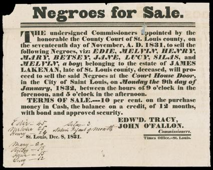 Essay on slavery