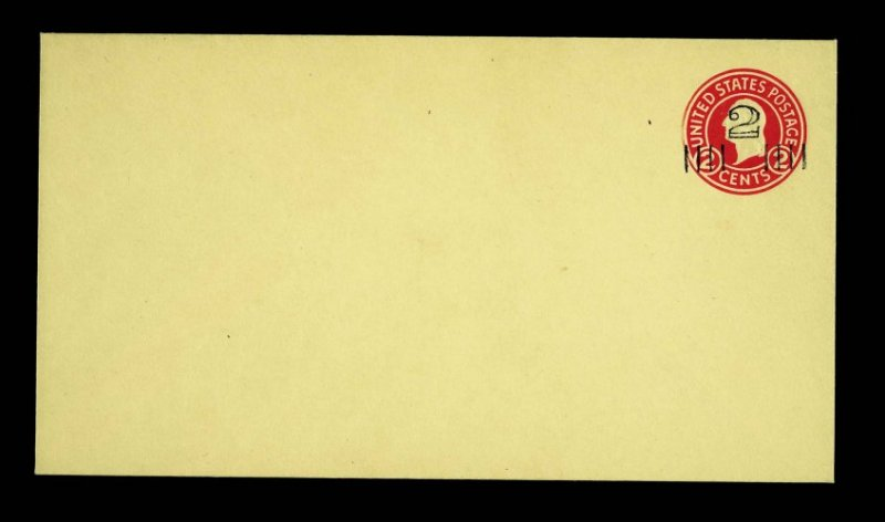 U439g 3c Carmine Error Of Color Upss #2555 Mint Envelope Upss Cat 500.00 A Wide Selection Of Colours And Designs