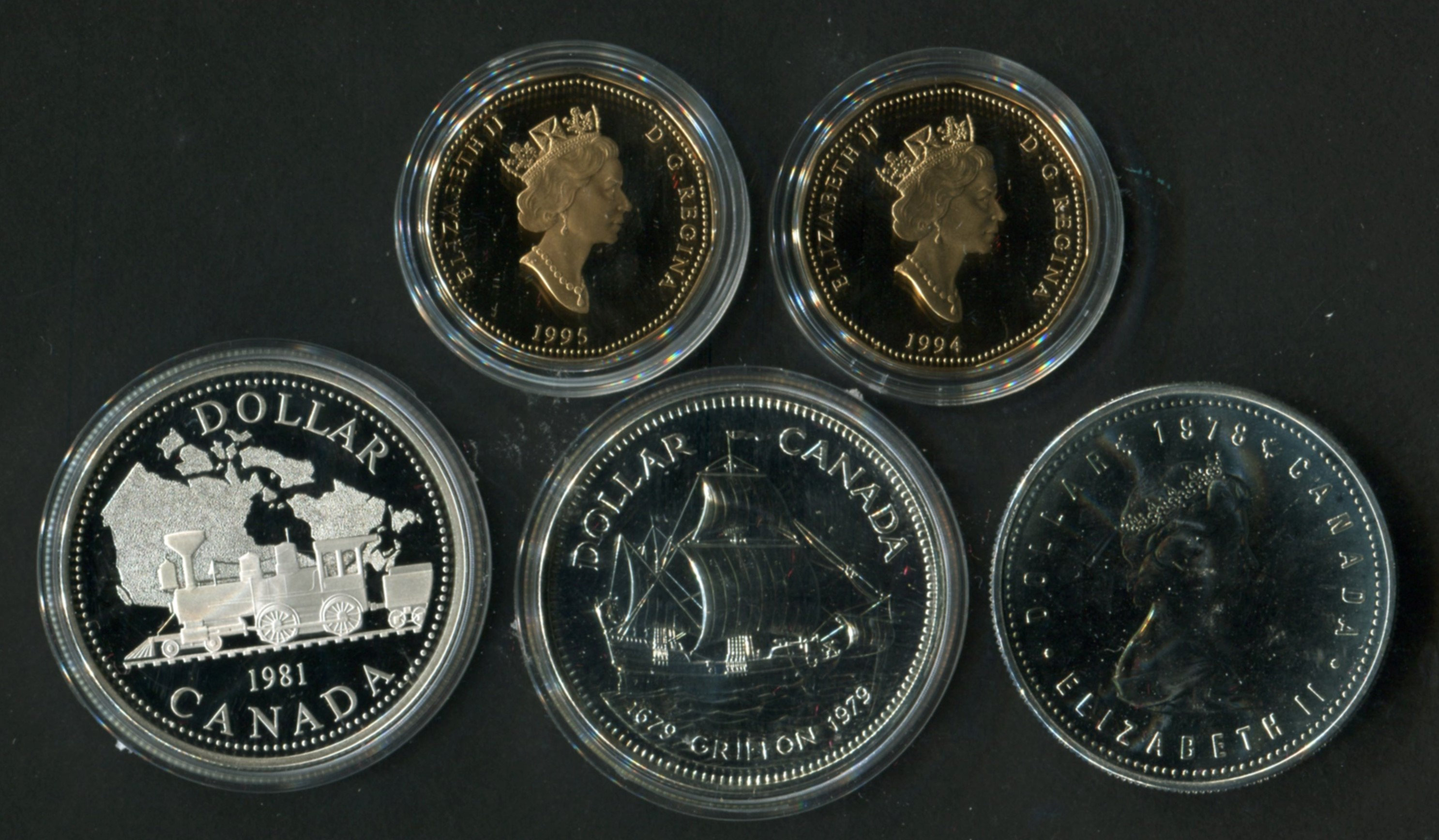 1998 Canada Silver Nickel Graded as Proof From Original Set
