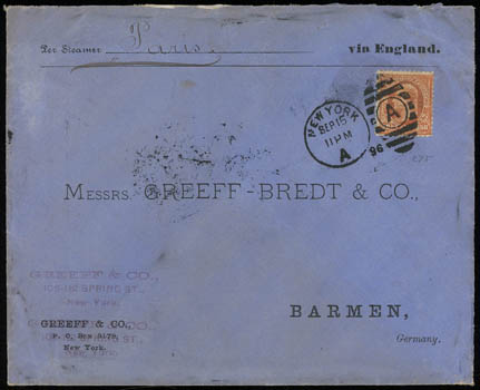 Schuyler J  Rumsey Philatelic Auctions Sale - 73 Page 45